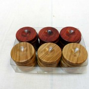 Handmade Wooden Checkers from Olive Wood- solivewood.com